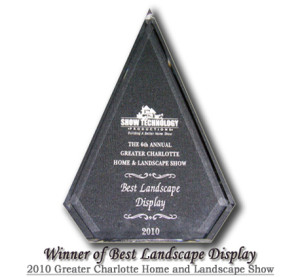 Winner Of Best Landscape Display