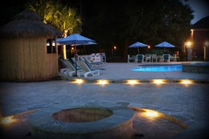 Pool, Tiki Hut, Fire Pit, Landscaping